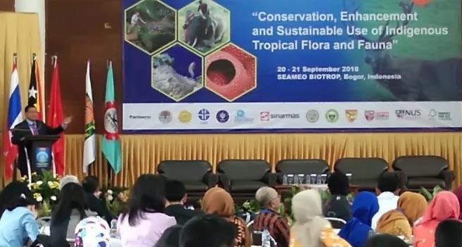 Ulang tahun Emas, Seameo Biotrop Menggelar Konferensi Internasional Ke-3