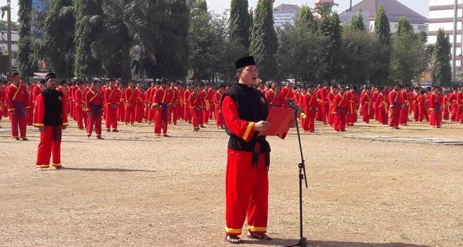 Apel Tapak Suci Putera Muhammadiyah Dihadiri Ribuan Peserta
