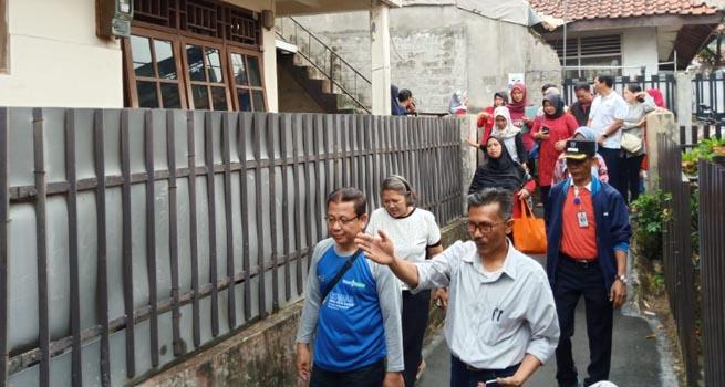 Transect Walk, Langkah Fasilitasi dalam Pemicu Stop Buang Air Besar Sembarangan (Stop Babs) di Kota Bogor
