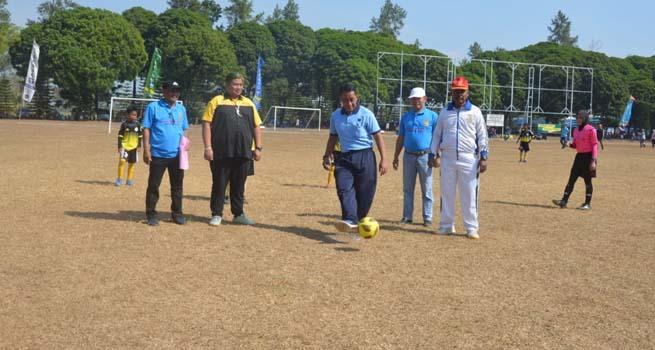 """Turnamen Sepak Bola """"Danlanud Abd Saleh Cup III"""" Usia Dini Resmi Dibuka"""