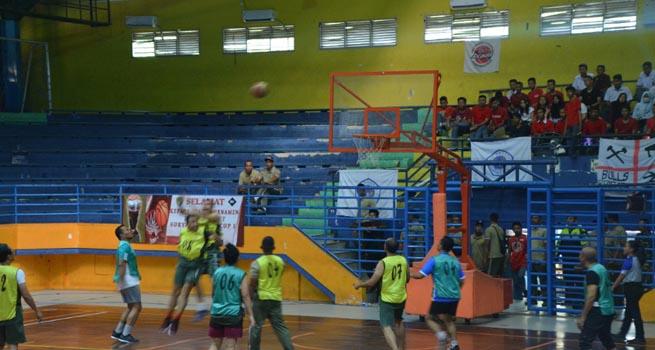 Danrem 061/Sk Menutup Turnamen Bola Basket Suryakancana Cup I