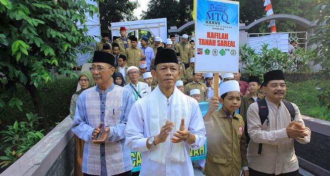 700 Peserta Berkompetisi di MTQ Tingkat Kota Bogor Ke-73