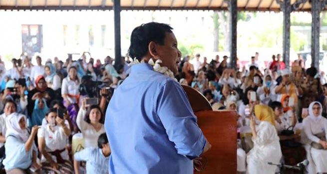 Prabowo Subianto : Emak-Emak yang akan Memimpin Perubahan di Indonesia
