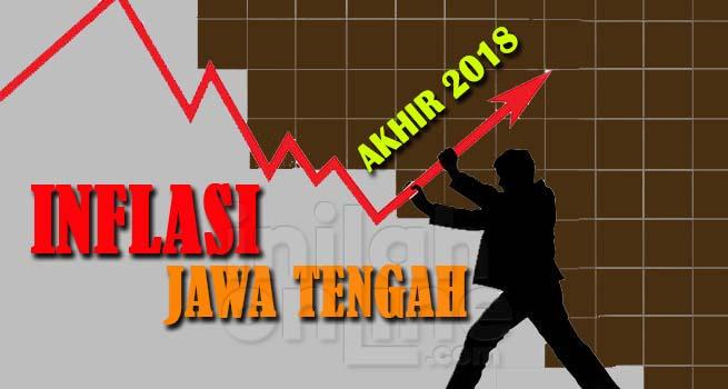 Jateng Waspadai Trend Kenaikan Inflasi di Akhir Tahun 2018