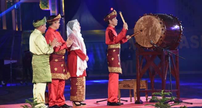 MTQ Nasional XXVII 2018 Resmi Dibuka Presiden Jokowi, 1550 Kafilah Berlomba Meraih Juara