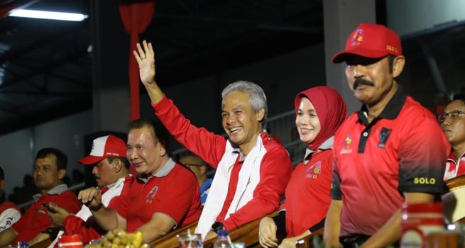 Buka Porprov, Ganjar Ajak Kepala Daerah Contoh Jokowi dalam Menghargai Atlet