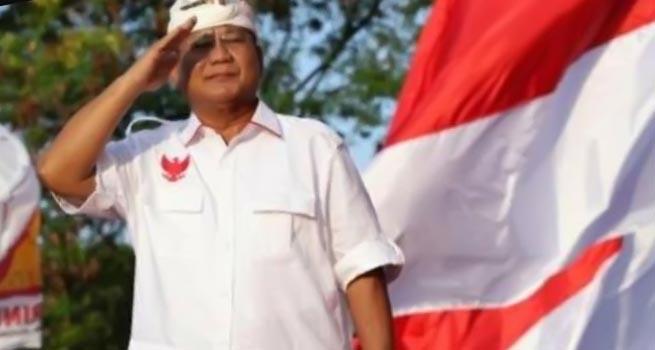 Prabowo Subianto Hadiri Deklarasi Relawan Emak-emak di Bali