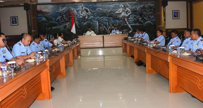 Tim BPK RI Kunjungi Lanud Abd Saleh