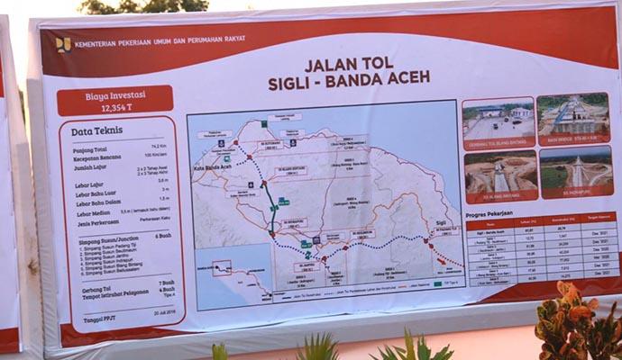 Mendagri Dampingi Presiden Tinjau Tol Pertama Di Aceh Inilah Online